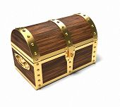 pic of treasure chest  - Trunk  - JPG