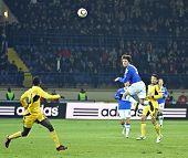 Sampdoria Genoa Fw Nicola Pozzi