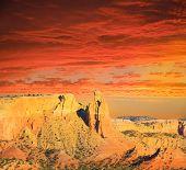 Escena del desierto
