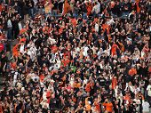 Giants Fans Go Crazy For Hit To Help With Mid-game Rally