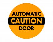 Sign Automatic Door