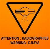 Sign: Warning Xrays