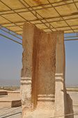 picture of xerxes  - Ruins of ancient city of Pasargad - JPG