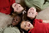 picture of children playing  - diversity series  - JPG