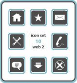 Vector Icon Set 10: Web2