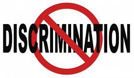 picture of gender  - stop discrimination no racism agains minorities equal rigths no homophobia or gender discrimination - JPG