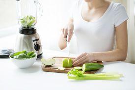 foto of blender  - healthy eating - JPG