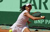 Alexandra Cadantu (rou) At Roland Garros 2011