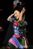 Chinesischen ethnischen Tanz