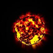 Burning star