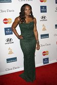 LOS ANGELES - FEB 11:  Serena Williams arrives at the Pre-Grammy Party hosted by Clive Davis at the