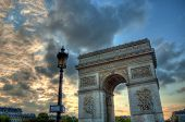 Triumphal gate - Paris