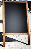 Restaurant Menu Chalkboard