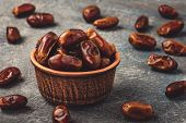 Delicious Dried Dates, A Favorite Dish Of Many Gourmets. poster