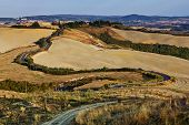 Tuscan Sinuous Roads