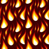 stock photo of sounding-rod  - vector red flame abstract seamless background wallpaper - JPG