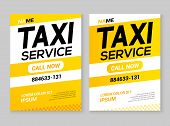 Taxi Service Flyer Layout Template. Taxi Car Service Cab Poster Design Background, Taxi Ad Conbcept  poster