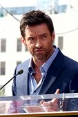 LOS ANGELES - DEC 13:  Hugh Jackman at the Hollywood Walk of Fame ceremony for Hugh Jackman at Holly