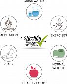 Healthy lifestyle advices