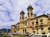picture of basque country  - City Hall in Donostia  - JPG