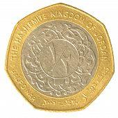 Half Jordanian Dinar Coin