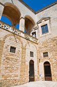 picture of swabian  - Norman Swabian Castle. Mesagne. Puglia.   Southern Italy. - JPG