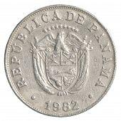 5 Panamanian Centimonos Coin