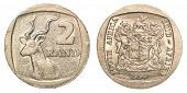2 South African Rands Coin