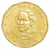 1 Dominican Republic Peso Coin