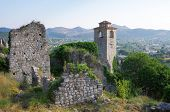 ruins of Stari Bar old fortress, Montenegro