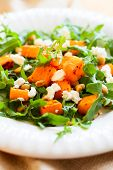 picture of pine nut  - pumpkin salad with feta - JPG