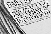 pic of swine flu  - Swine Flu outbreak becomes pandemic  - JPG