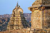 picture of vijayanagara  - Virupaksha Temple in Hampi - JPG