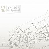 Wireframe Surface Background