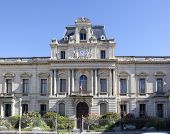 Prefecture in Montpellier. Prefecture dating from the 19th Century