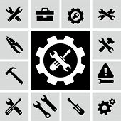 stock photo of tool  - Tools icons - JPG