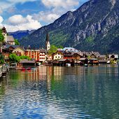 Hallstatt - beautiful Alpine village, Austria
