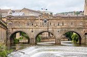 picture of avon  - River Avon and Pulteney Bridge - JPG