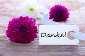 Label With Danke