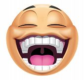 Emoticon Laughing