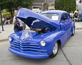 1947 Blue Chevy Couple