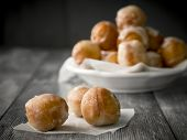 image of thursday  - Small homemade doughnuts - JPG