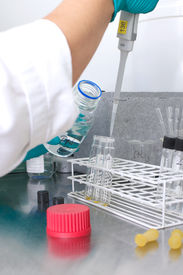 pic of hplc  - Picture of a person working in a lab - JPG