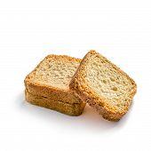 Toasts On White