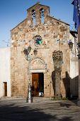 Sardinia.Church Facade/