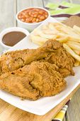 Fried Chicken & Chips