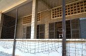Outside prison of the Khmer Rouge