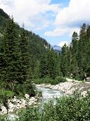 Stream in the austrian alps