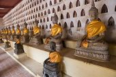 Buddha At Wat Sisaket In Vientiane
