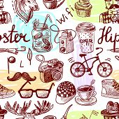 Hipster seamless